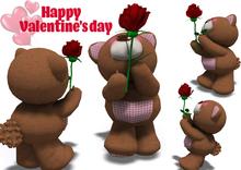 [ FULL PERM ] BEAR /  Happy Valentine's Day