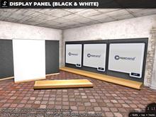 [satus Inc] Display Panel (Black & White)