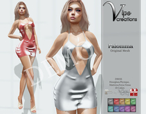 [Vips Creations] - DEMO - Original Mesh Dress - [Palomma]FITTED