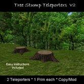 Tree Stump Teleporters v2