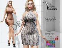 [Vips Creations] - DEMO - Original Mesh Dress - [Kendia3]FITTED