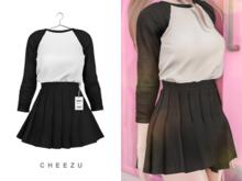 cheezu. yooni outfit : black