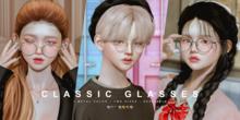 cheezu. classic glasses
