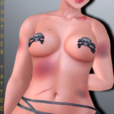PANTHER TATTOO-Beat Chest-BoM [ Bakes on Mesh ] & Appliers Omega Maitreya Belleza