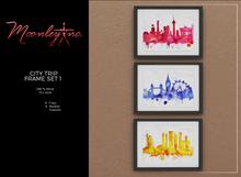 Moonley Inc. - City Trip Frame Set 1