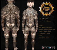 **UbS** Astral Tattoo