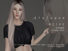 DIALOGUE MEIKE shape for Lelutka Sasha 2.5