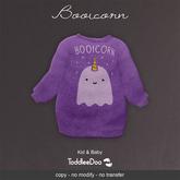 "LeMomo: ""Booicorn"" Halloween Outfit [Kid&Baby Toddleedoo]"