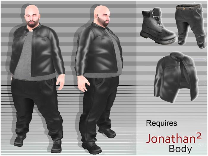 piggu Jonathan's Biker Outfit
