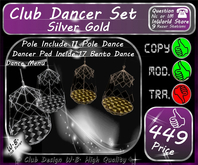 * New * Club Dancer Set * Open Cage * Include Dance *