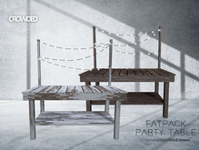 Crowded Room - Party Table - Fatpack (ADD)
