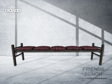 Crowded Room - Friends Bench - Plaid