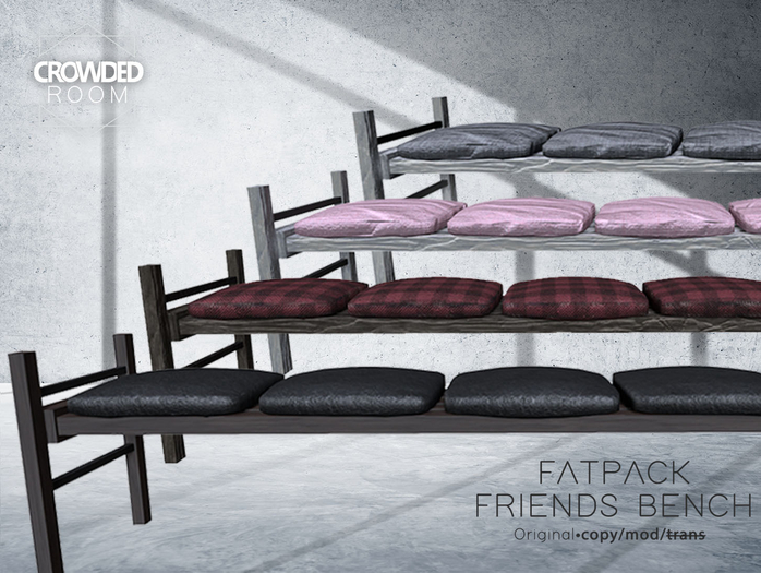 Crowded Room - Friends Bench - FATPACK