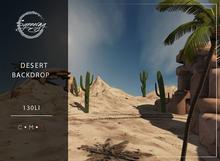 Synnergy//Desert Backdrop
