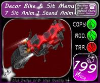 * Decor Bike * Include 7 Sit 1 Stand Anim * V 1 *