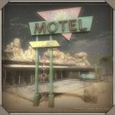 Refuge - Sunset Motel Sign