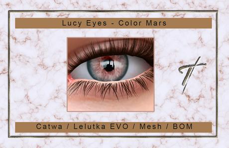 Tville - Lucy Eyes *mars* for Catwa / Lelutka EVO / Mesh / BoM