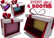 [ FULL PERM ] 4 types of Event Booth / Ribbon