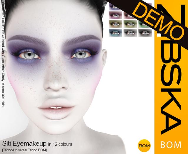 Zibska BOM Pack ~ Siti Eyemakeup Demos [tattoo/universal tattoo BOM]