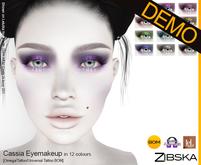 Zibska ~ Cassia Eyemakeup Demo [Omega applier, tattoo & universal tattoo BOM]