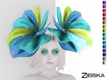 Zibska ~ Umeko Color Change Headpiece and Shoulder Orbits