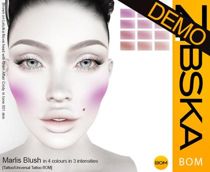 Zibska BOM Pack ~ Marlis Blush Demo [tattoo/universal tattoo BOM]