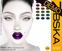 Zibska BOM Pack ~ Marlis Lips Demos [tattoo/universal tattoo BOM]