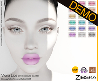 Zibska ~ Viona Lips Demo [omega applier/tattoo/universal tattoo BOM]