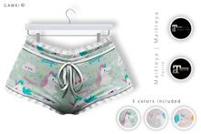 GAWK! Flouncy Panties - Unicorns | for Maitreya | Maitreya Petite