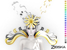 Zibska ~ Cadence Color Change Headpiece and Collar