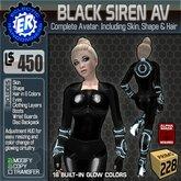 ER Siren Avatar - Black