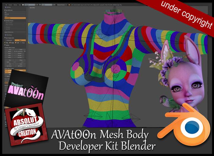 AVAtOOn Developer Kit Blender