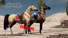 Cheval D'or / TeeglePet Friesian / Nedir Tack Set.