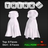 TT-Z05-DRESS SKIRT TOP MOMMA BODY