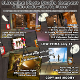 SLD Photo Studio Compact - 100% Mesh + 400 Poses, props 3D. particles, 150 wallpapers couple / single , valentine edit
