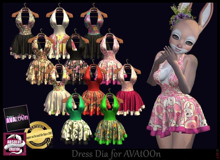 ^v^ AVAtOON Dress Dia