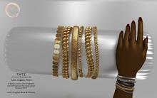 NaaNaa's Tati Bracelets Gold  [Wear Me]