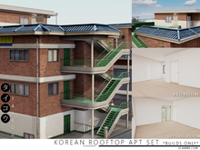taikou / korean rooftop apt set *BUILDS ONLY*