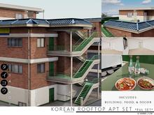 taikou / korean rooftop apartment set *FULL SET*