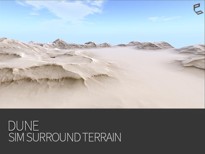 DUNE - sim surround terrain