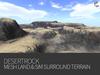 DESERTROCK - mesh terrain & sim surround terrain rezzer