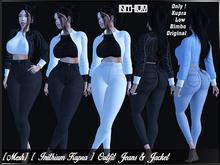 [ Mesh ] [ Inithium Kupra ] Outfit Jeans & Jacket