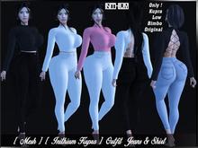 [ Mesh ] [ Inithium Kupra ] Outfit Jeans & Shirt