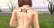 Allie Nicole -  Triple Moon - Tattoo   {Wear}