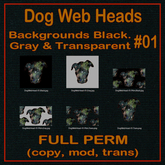 FP, Dog Web Head 01 Set 1