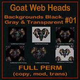 FP, Goat Web Head 01 Set 1