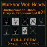 FP, Markhor Horn Web Head 03 Set 1