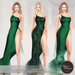 .:FlowerDreams:.Tiana Gown - greens