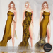 .:FlowerDreams:.Tiana Gown - yellows