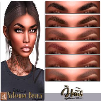 .:the-HAUS:. Setsuna HD Eyebrows (LeL + LeL Evo X)